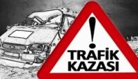 Erzurumda trafik kazası 2 can aldı