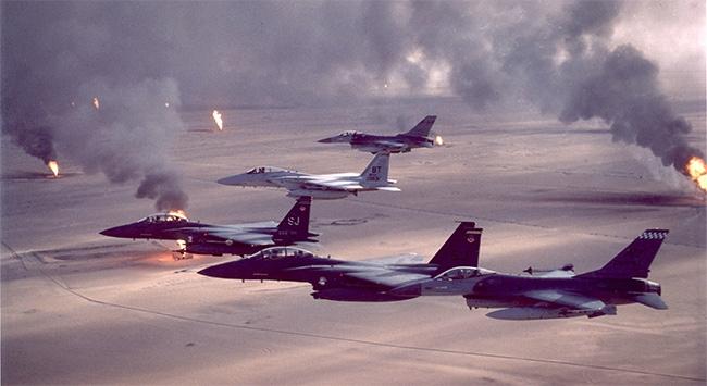 IŞİD mevzilerine 10 yeni hava saldırısı