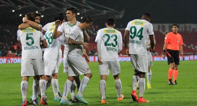 """Bursaspor """"5 golü"""" çok sevdi"""