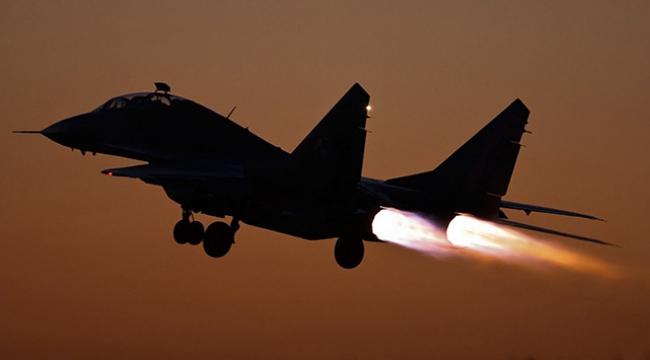 Rus savaş jetlerine önleme