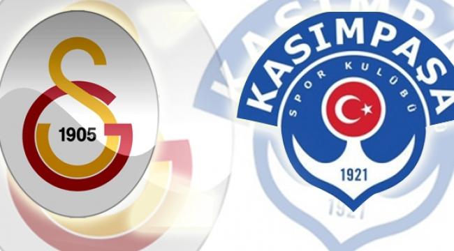 Galatasaray ile Kasımpaşa 21. randevuda