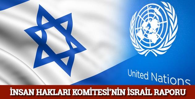 İnsan Hakları Komisyonunun İsrail Raporu