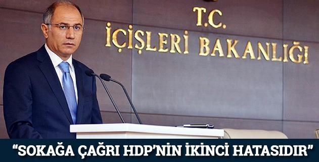 """""""HDPnin ikinci büyük hatasıdır"""""""