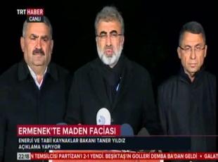 Ermenek'te iki işçiye ulaşıldı