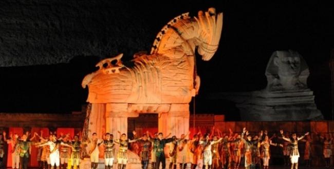 Troya İstanbulda sahnelendi