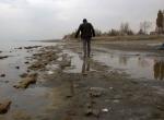 Van Gölünde 2 metrelik çekilme