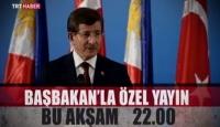 Başbakan Ahmet Davutoğlu TRT Haberde