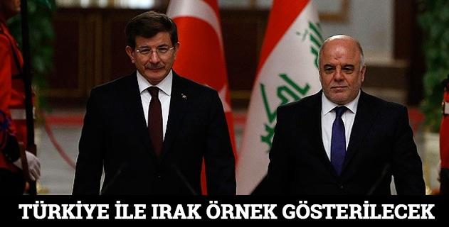 Türkiye ile Irak örnek gösterilecek