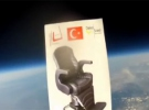 Türk girişimcilerden uzayda reklam filmi
