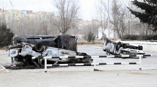 Kazakistanda Gösteriler Sürüyor