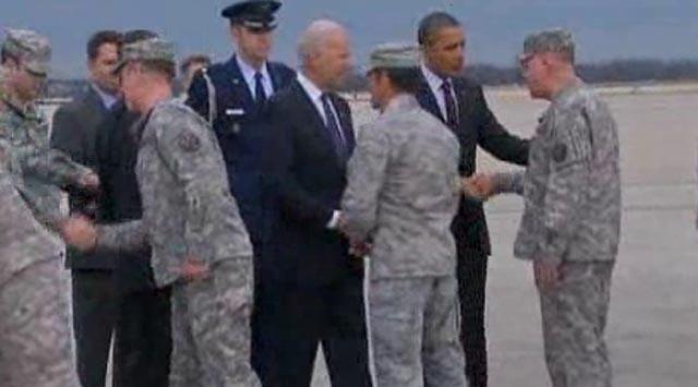 Bush Uğurladı Obama Karşıladı
