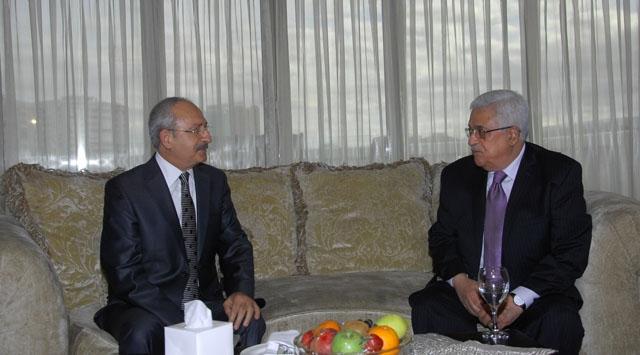 Kılıçdaroğlu Abbası Ziyaret Etti