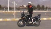Motosikletli Polislerden Nefes Kesen Gösteri