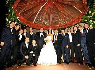 Futbol Dünyası Düğünde Buluştu