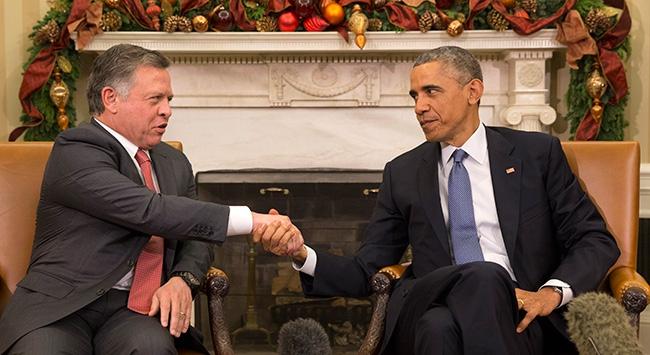 Obama, Kral Abdullah ile görüştü