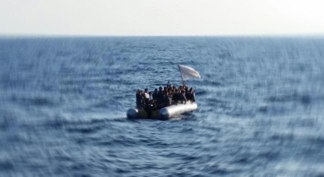 Muğlada sığınmacıları taşıyan tekne battı