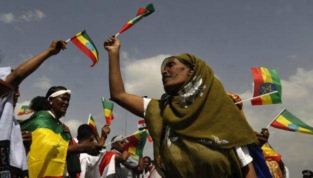 Etiyopyada Halklar Günü kutlamaları
