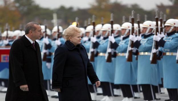 Grybauskaite onuruna yemek