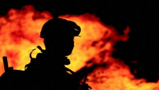 Kocaelinde ev yangını