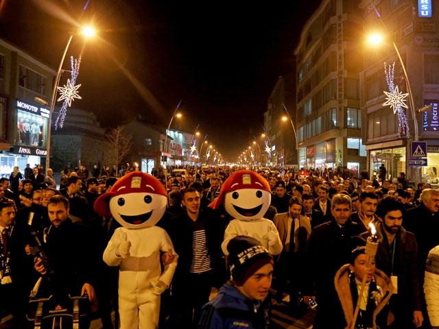 Erzurum Winterfest 2014 Baþladý