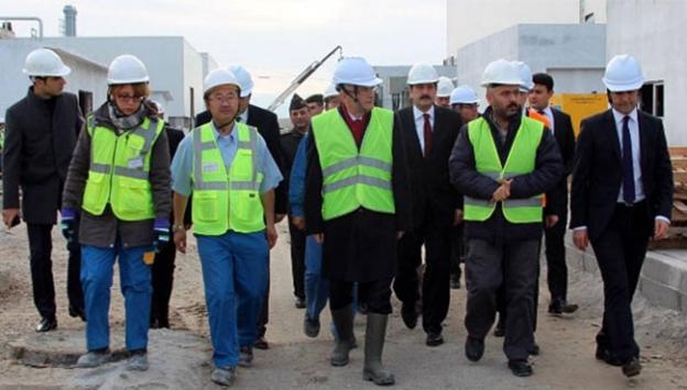 Milyon dolarlık fabrikanın yapımı bitiyor