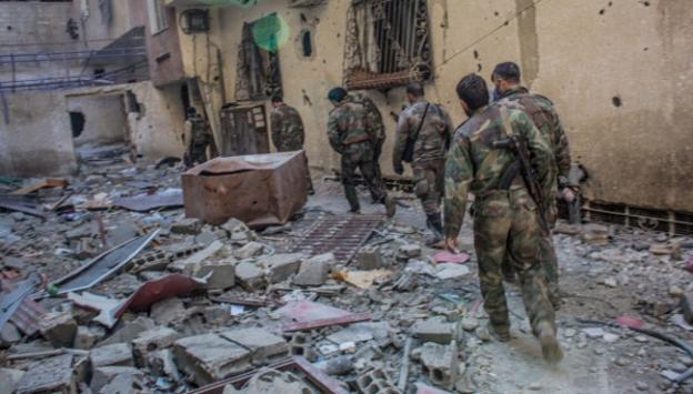 Suriyede savaş sürüyor