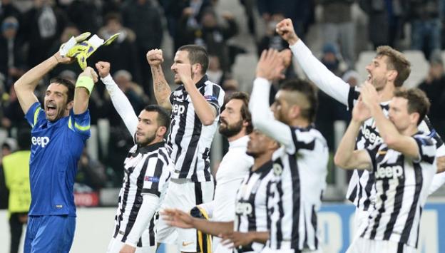 Juventus İtalyaya damgasını vurdu