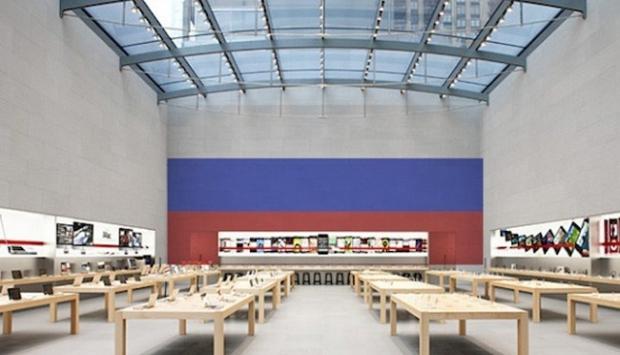 Apple Rusyada satışlarını durdurdu