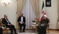 İran Cumhurbaşkanı Ruhani, Çavuşoğlunu kabul etti