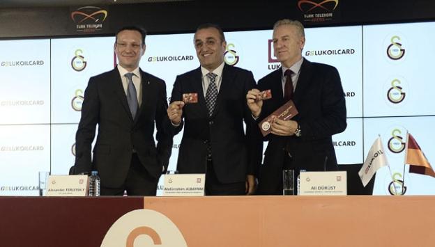 Galatasaray Kulübü, Lukoil ile işbirliği anlaşması yaptı
