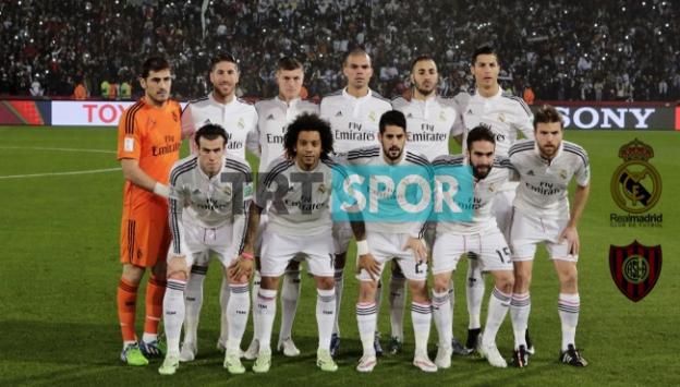 TRT Spor ekranlarında Real Madrid-San Lorenzo heyacanı