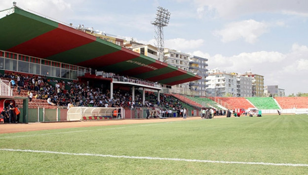 Diyarbakır Galatasaray maçında önlem