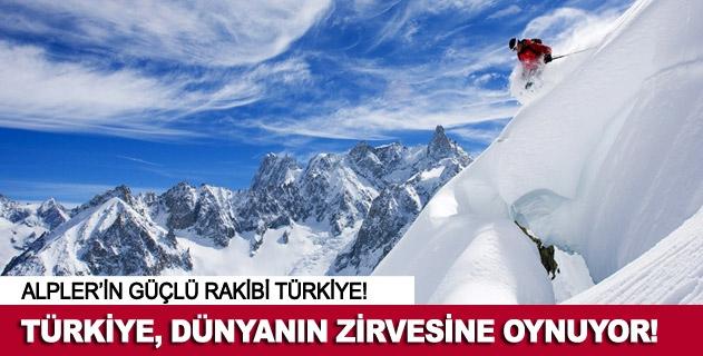 Türkiye Kış Turizminde Alpleri solladı