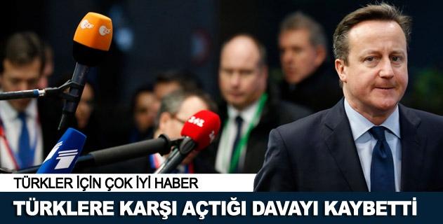 Türklere açtığı davayı kaybetti