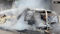 Savaş uçakları öğrenci servisini vurdu