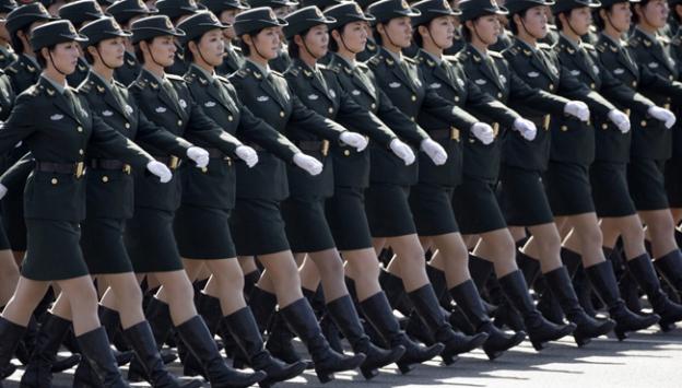 BM 13 kadın askeri görevlendirdi