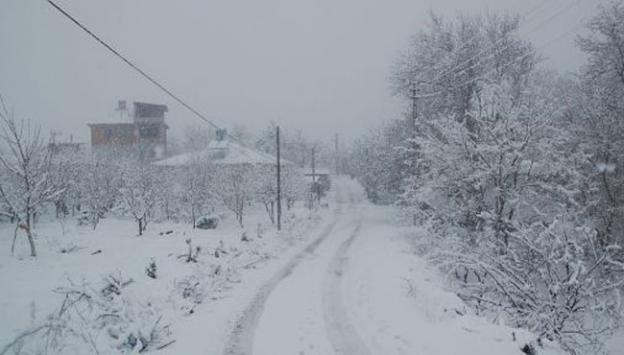 Kar yağışı 39 köy yolunu kapattı