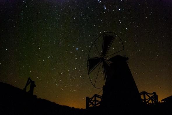 Kaz Dağları'nda Yıldızlar Büyülüyor