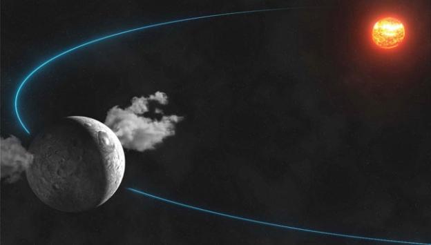 Ceres gezegeninde buzullar keşfedildi