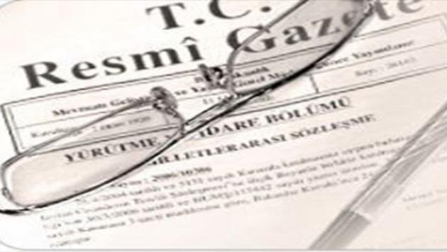 Atama kararı Resmi Gazetede