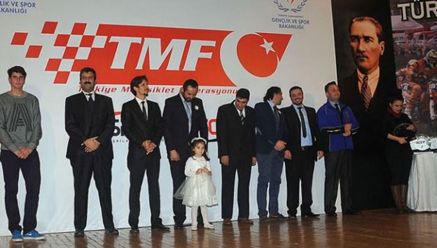 Türkiye Motosiklet Federasyonu ödül töreni
