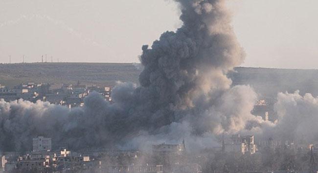 Halepteki IŞİDe ait hedefler bombalandı