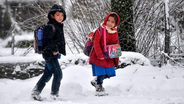 Kastamonuda okullar tatil edildi