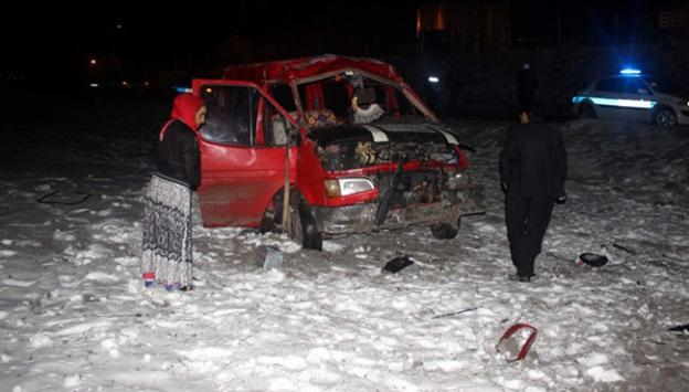 Kayseride kaza: 2si bebek 6 yaralı