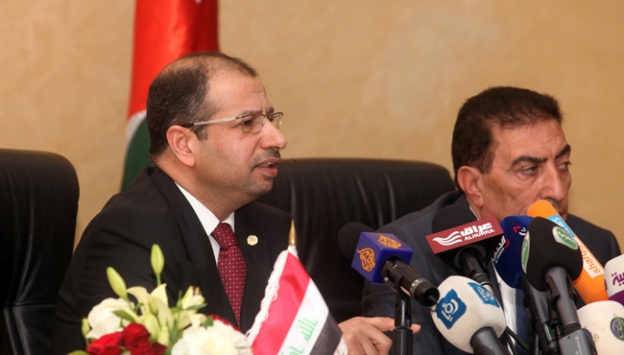 Başbakan Davutoğlu, Irak Meclis Başkanı Cuburi ile görüştü