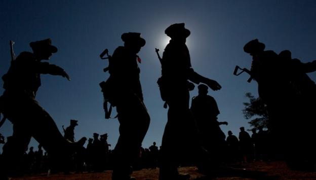 Myanmar ın kuzey bölgesinde kaçin isyancıları ile hükümet