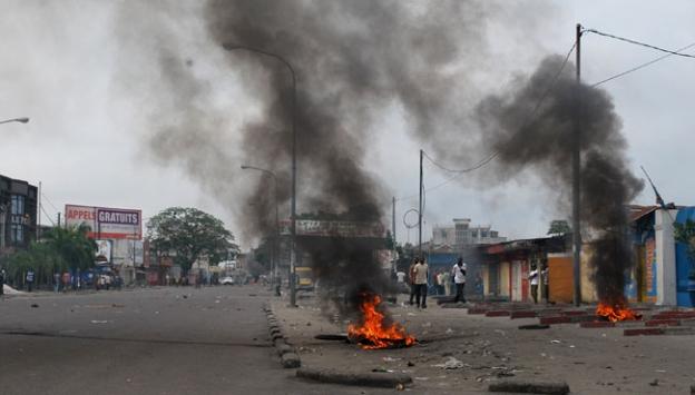Demokratik Kongoda göstericilere müdahale