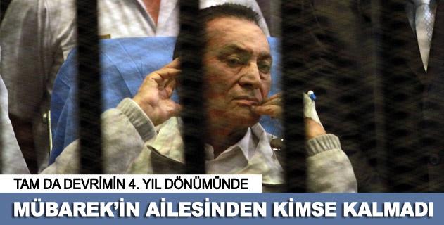 """Devrimin 4. yılında hapiste """"Mübarek"""" kalmadı"""