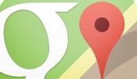 Google Mapste yol tarifi alınabilecek
