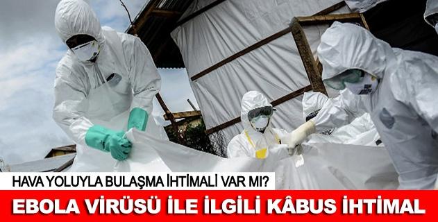 """""""Ebola virüsü mutasyona uğruyor"""" uyarısı"""